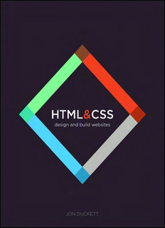 HTML AND CSS BY JON DUCKET