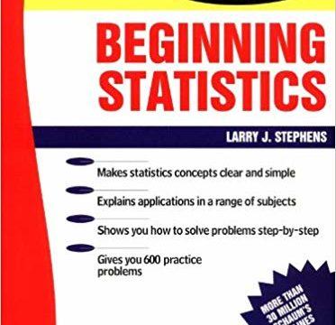Schaum Outline of Beginning Statistics