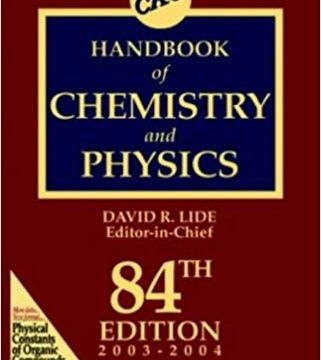 Download CRC Handbook of Chemistry and Physics