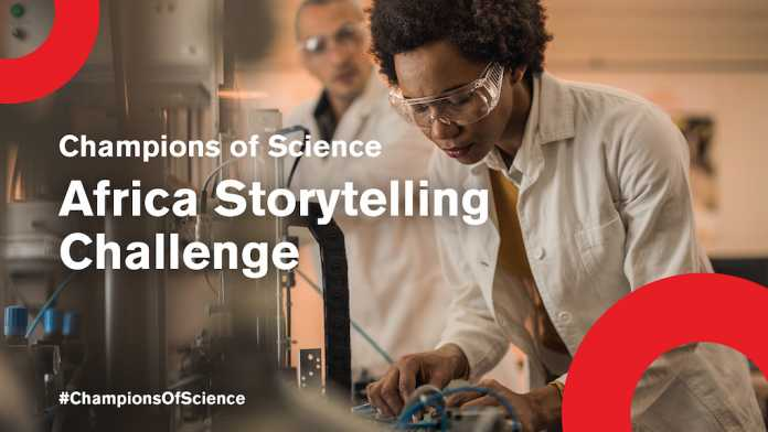SCIENCE STORYTELLING CHALLENGE – APPLY NOW