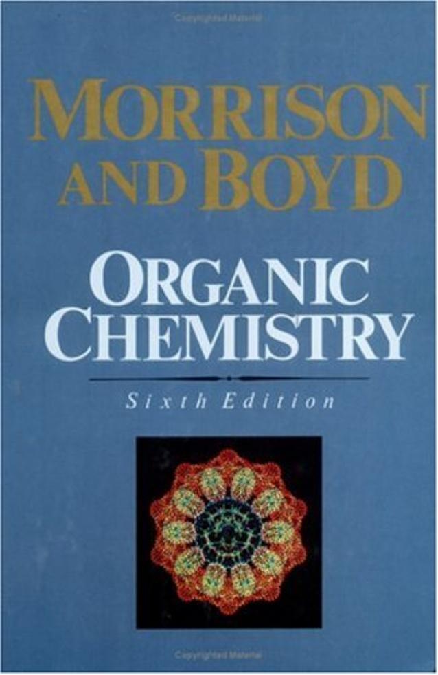 morrison boyd organic chemistry