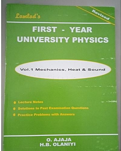 Lamlad's Physics vol 1 - First Year University Physics