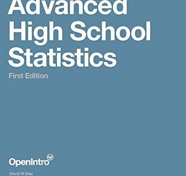 Advanced High School Statistics First Edition
