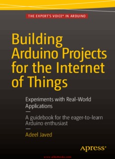 Building Arduino Projects for the Internet of Things by Adeel Javed