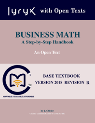 Business Math: A Step-by-Step Handbook by Paul Olivier