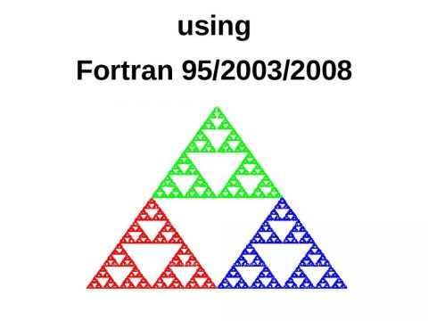 Introduction to Programming using Fortran 95/2003/2008 by Ed Jorgensen