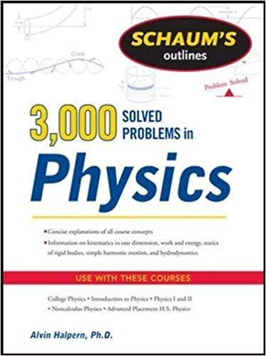Schaum's 3,000 Solved Problems in Physics by Alvin Halpern