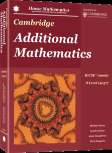 Download IGCSE Additional Mathematics Textbook
