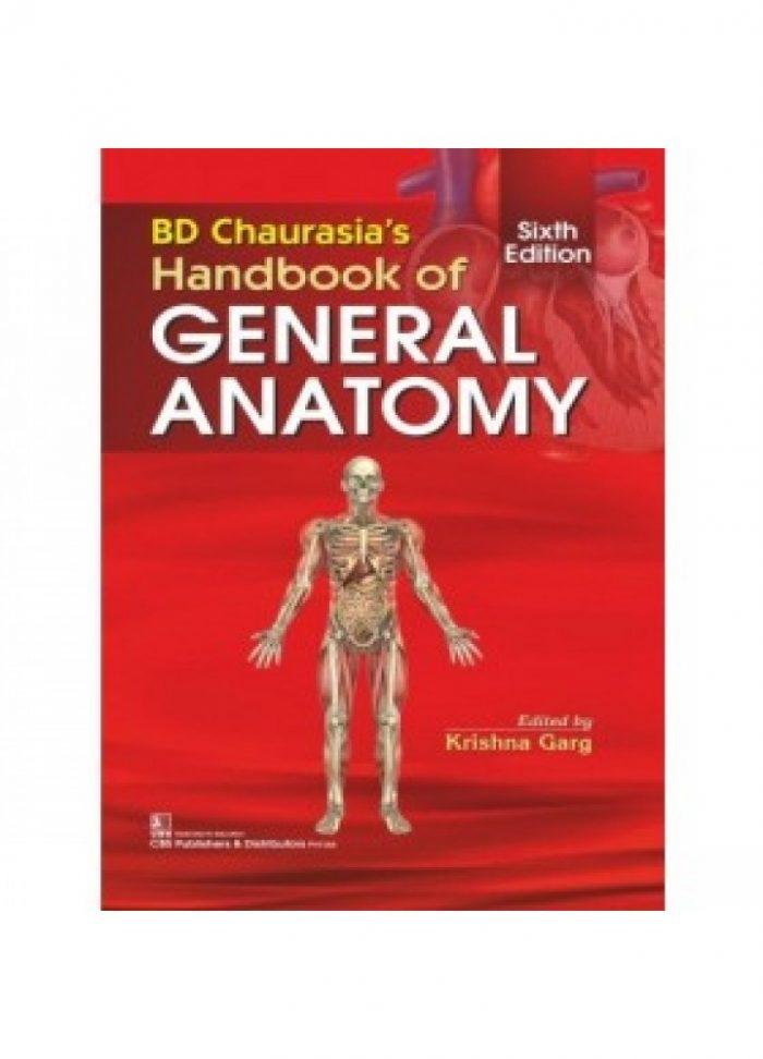 BD Chaurasia's Handbook of General Anatomy 4th Edition PDF ...