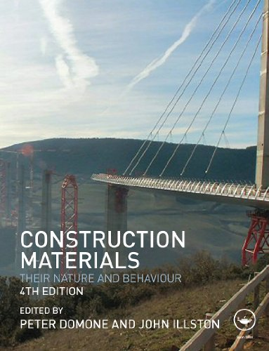 Construction Materials Their Nature and Behaviour Fourth Edition pdf