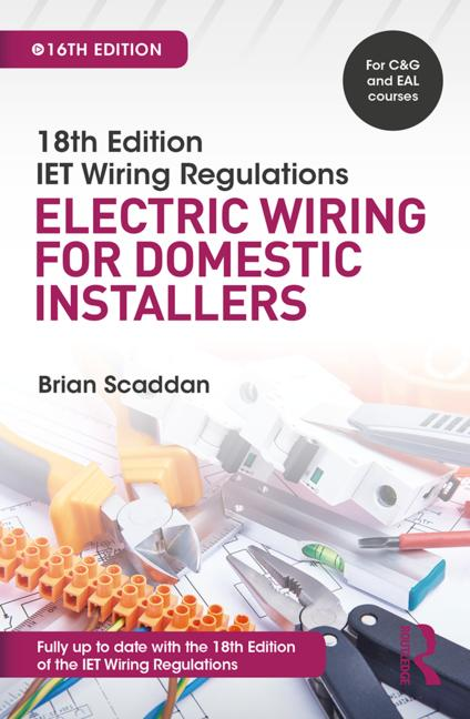 Electric Wiring for Domestic Installers 16th edition pdf