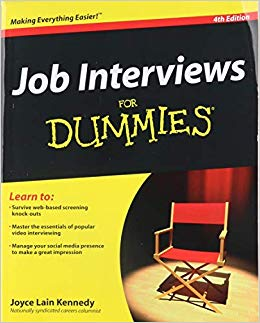 Job Interviews For Dummies by Joyce Lain Kennedy pdf
