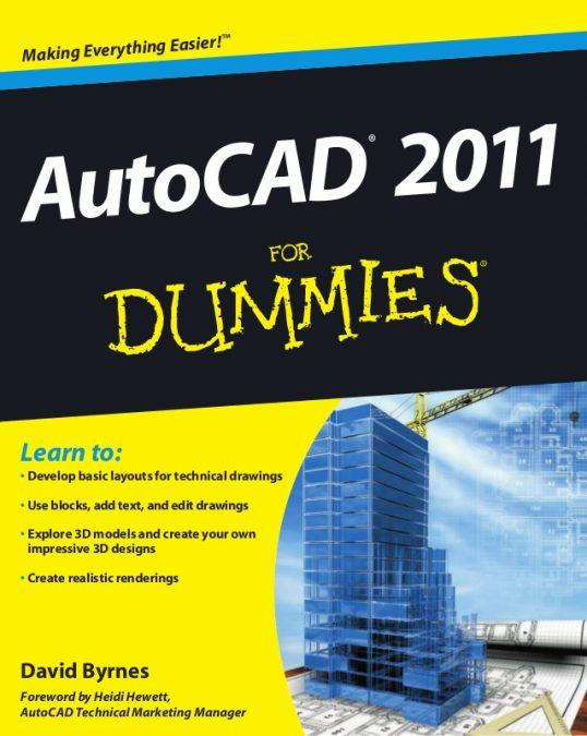 AutoCAD 2011 For Dummies pdf