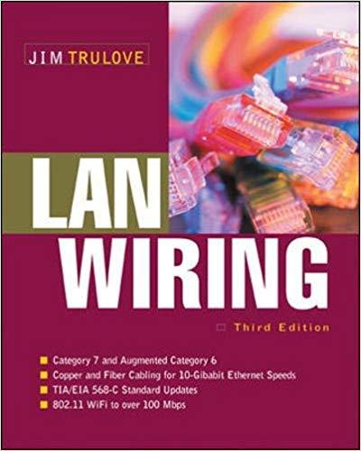 Download LAN Wiring by James Trulove pdf
