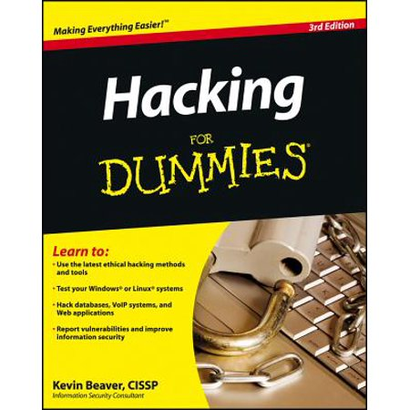 Download Hacking For Dummies By Kevin Beaver Booktree
