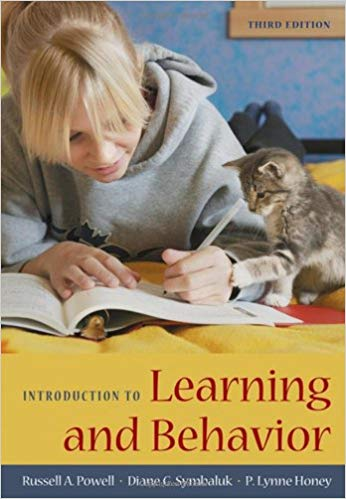 Introduction to Learning and Behavior by Russell A. Powell pdf