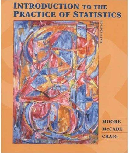Introduction to the Practice of Statistics 6th Ed pdf