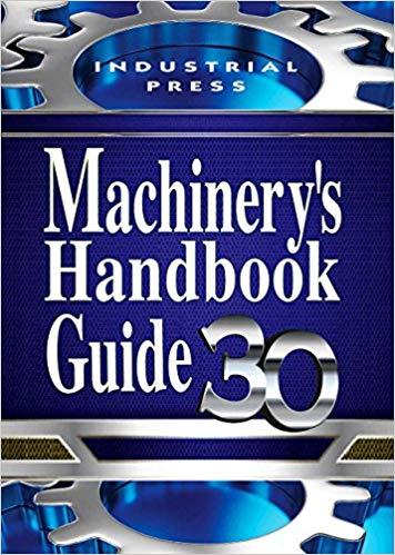 Machinery's Handbook, Toolbox Edition by Erik Oberg