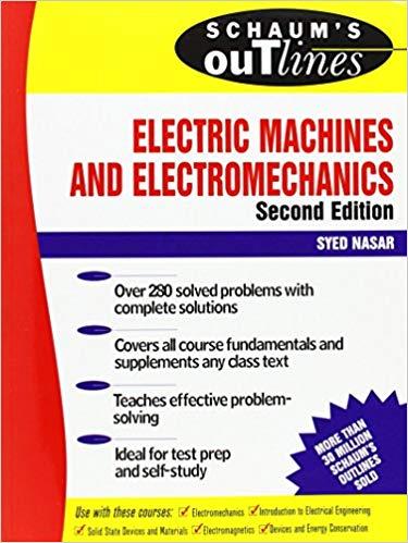Schaums Outline of Electric Machines & Electromechanics pdf