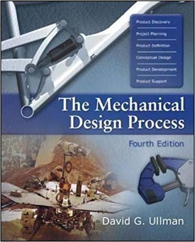 The Mechanical Design Process latest edition pdf