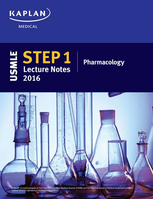USMLE Step 1 Lecture Notes 2016 Pharmacology PDF