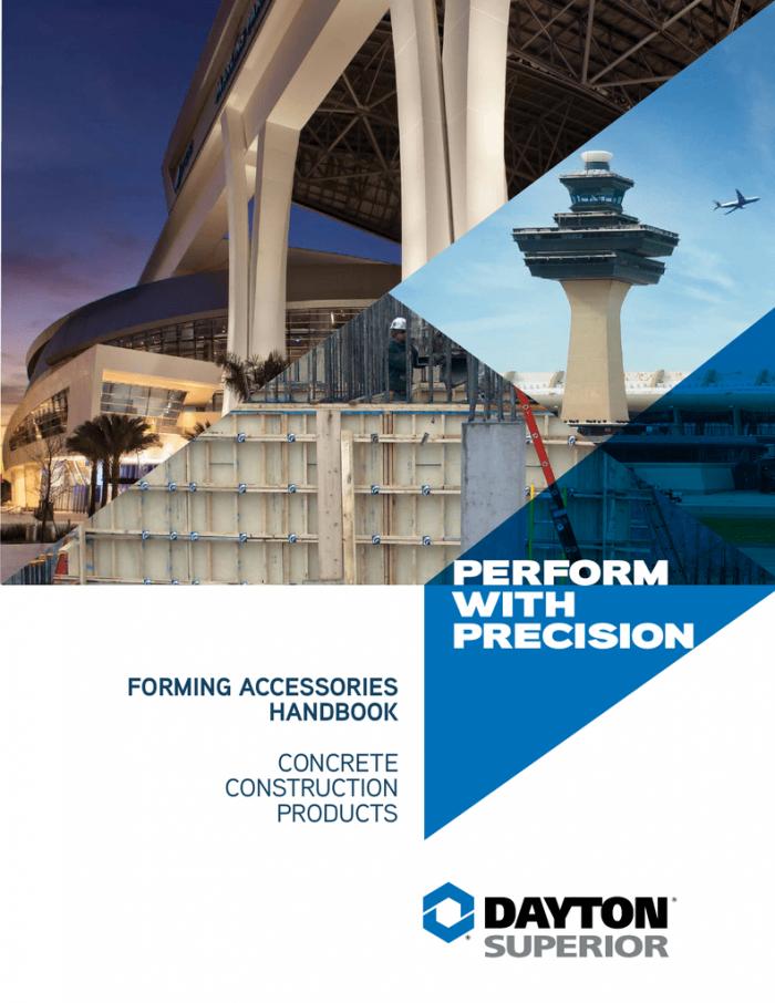 Concrete Forming Accessories Handbook pdf