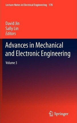 Advances in Mechanical and Electronic Engineering Volume 3 pdf