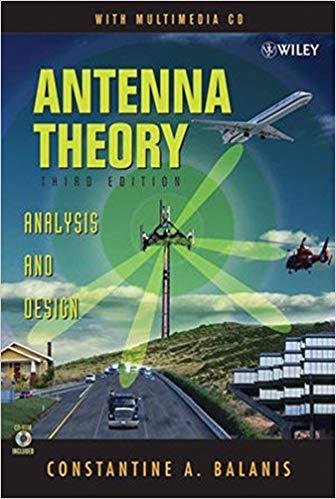 Antenna Theory Analysis and Design PDF