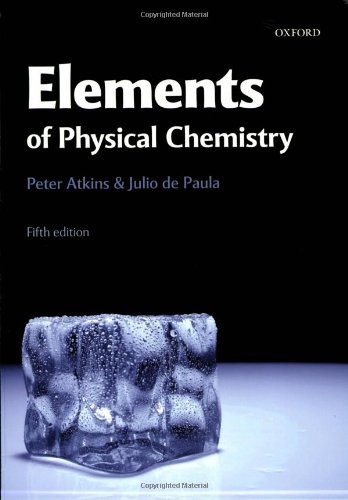 Elements of Physical Chemistry pdf