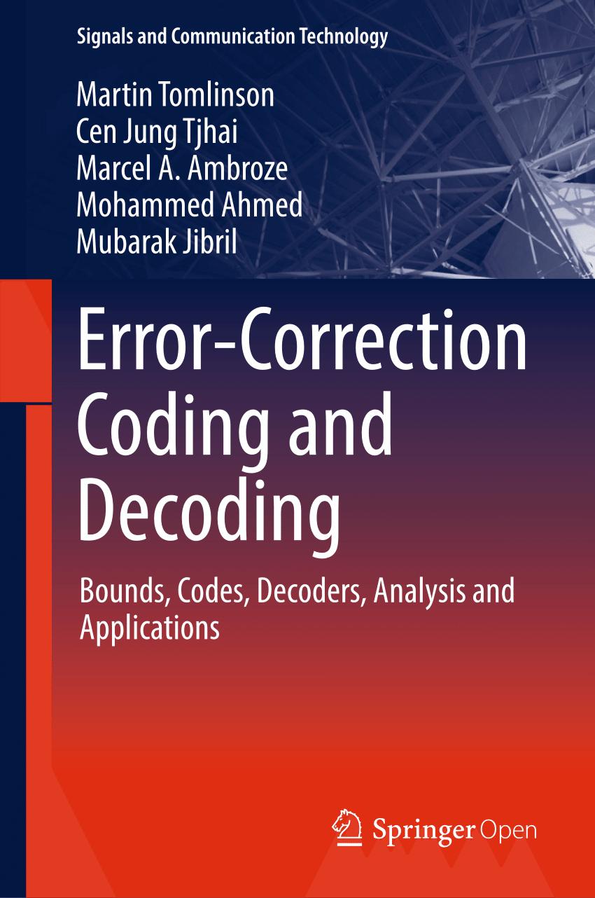 Error-Correction Coding and Decoding pdf