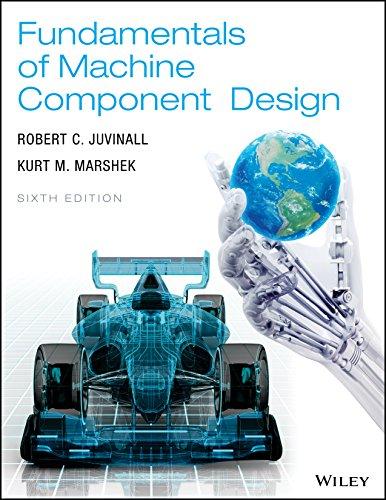 Fundamentals of Machine Component Design, 6th Edition PDF