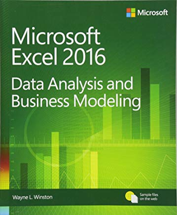 Microsoft Excel 2016 Data Analysis and Business Modeling PDF