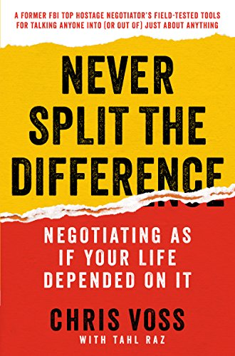 Never Split the Difference by Chris Voss PDF