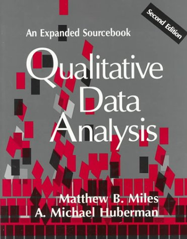 Qualitative Data Analysis An Expanded Sourcebook PDF