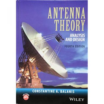 Antenna Theory Analysis and Design Fourth Edition pdf