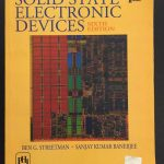 Solid State Electronic Devices by Ben Streetman PDF