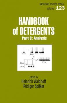 Waldhoff Handbook Of Detergents Analysis PDF