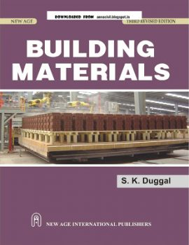Building Materials by S.K. Duggal PDF