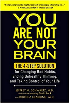 You Are Not Your Brain by Jeffrey M. Schwartz pdf