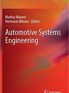 Automotive Systems Engineering PDF