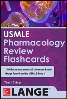 USMLE Pharmacology Review Flash Cards PDF