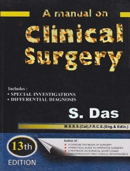 A Manual On Clinical Surgery PDF