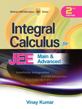Integral Calculus for JEE Main and Advanced PDF