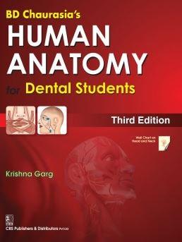 BD Chaurasia's Human Anatomy for Dental Students PDF