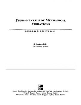 Fundamentals of Mechanical Vibrations PDF
