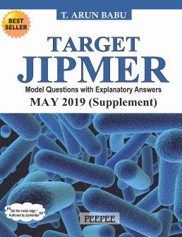 Target JIPMER PGMEE MAY 2019 Supplement PDF